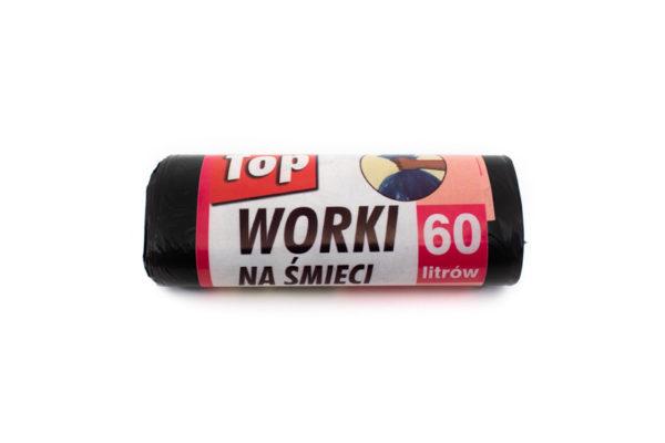 Worki na śmieci TOP 60L