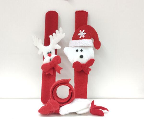 opaska na rękę świąteczna